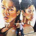 Amanda & Cindy Serrano / Le dedican mural en Nueva York