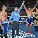 """Alberto """"Chicharo"""" Morales venció a Rafael Jiménez, en velada de nuevos valores que presentó Grimboxing y HG Boxing en Ciudad Neza"""