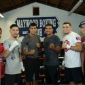 "Alberto ""Explosivo"" Machado, Carlos ""The Solution"" Morales and fighters from august 10 la Fight Club Media workout quotes, photos and videos"