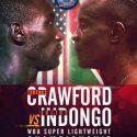 Crawford Vs Indongo, 4 títulos mundiales en juego por ESPN y La casa del boxeo