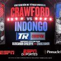 Terence Crawfod y Julius Indongo unificarán la división Junior Welter este sábado por ESPN Deportes