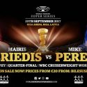 Briedis: Riga's passionate crowd will affect Perez on September 30 in Latvia