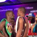Video: Official Weigh-in: Terence Crawford 140 vs. Julius Indongo 139