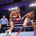 "ALBERTO ""EXPLOSIVO"" MACHADO UNIFIES NABO AND NABA SUPER FEATHERWEIGHT TITLES WITH UNANIMOUS DECISION VICTORY AGAINST CARLOS ""THE SOLUTION"" MORALES ON GOLDEN BOY BOXING ON ESPN AT COMPLEJO FERIAL DE PUERTO RICO"