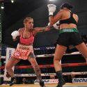Débora Dionicius / Otra defensa exitosa del título mundial supermosca femenino de la F.I.B.
