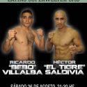 Bebo Villalba vs. Tigre Saldivia en esperado duelo unificatorio – Sábado en Hurlingham