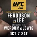 UFC 216: Ferguson vs. Lee Meet for the Interim Lightweight Title