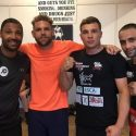 Former world champion Brook joins Saunders training camp
