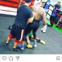 Monroe Jr KO'ing Light-Heavyweights in Saunders training camp?