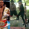Se filtra vídeo de Errol Spence Jr en una pelea callejera con un peso… Completo.