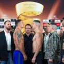 World Boxing Super Series Official Weigh-in: Ukrainian Aleksandr Usyk (90,5 kg) vs Marko Huck (90,2 kg)