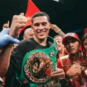 "David Benavidez on Gravil win: ""It feels amazing to win this title,"""