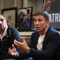 """Gennady Golovkin asegura el porque """"Canelo"""" tomó la pelea ante el"""