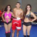 """""""Maravilla"""" Carmona, aplica el nocaut de la noche, en velada de Chiquita Boxing"""