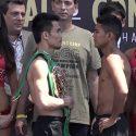 "Video: Pesaje Oficial:Srisaket Sor Rungvisai 115 vs. Roman ""Chocolatito"" Gonzalez 114.8"