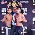 Pesaje desde Las Vegas: Claudio Marrero 126lbs vs. Jesús Rojas 126lbs