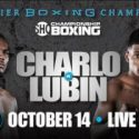 Tony Harrison Returns to Action to Take on Mexico's Paul Valenzuela Jr. on Saturday, October 14