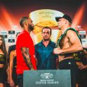 Official Weigh-in: Mairis Briedis 198.6 lbs vs. Mike Perez 197.3 lbs