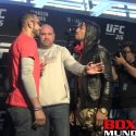 Video: UFC 216 Fighter Face Offs at final pre fight press conference