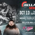 Monster Energy Bellator MMA Fight Series Visits Talladega Superspeedway on Friday, Oct. 13