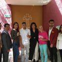 """Irma """"Güerita"""" Sánchez, Joselyn """"Princesa Tapatía"""" Arroyo y Carlos """"Chuko"""" Díaz visitan albergue Fray Antonio Alcalde"""