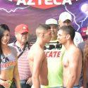 Pesaje Oficial: Carlos Díaz 134 lbs vs. Emmanuel López 133 lbs