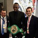 Bolt recibe cinto Huichol del CMB en México