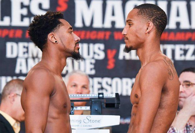 Demetrius Andrade 159.5 vs. Alantez Fox 160