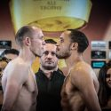Official Weigh-in: Juergen Braehmer 166.8lbs vs. Rob Brant 166lbs