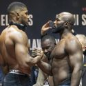 Official Weigh-in: Anthony Joshua 254.25 vs. Carlos Takam 235.5
