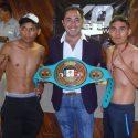 Vázquez y Brito, listos para su riña de título en Iztacalco