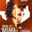 Kyra Batara Faces Paulina Granados in San Antonio, Texas on December 1
