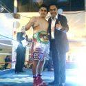 """Luis """"Bailarina"""" Vázquez, campeón nacional"""