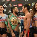 Pesaje Oficial: Luis Nery 120 lbs vs. Arthur Villanueva 120 lbs