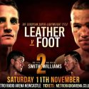 "Josh Leather: ""People said i couldn't punch but i've stopped five on the Bounce Now!"""
