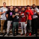 Official Weigh-in: Luis Rosa Jr. 125lbs vs. Yuandale Evans 125.5lbs