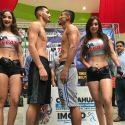 Pesaje Oficial: Carlos Ocampo 146 lbs vs. Darío Ferman 146 lbs