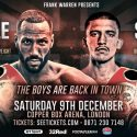 Degale faces Truax on London homecoming while Selby takes on Ramirez