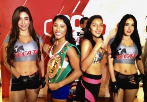Kenia Enríquez 107.8 lbs         Jessica Nery Plata 107.8 lbs
