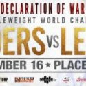 "More middleweight mayhem on dec. 16: Antoine ""Action"" Douglas and Gary ""Spike"" O'sullivan to square off in co-main event of WBO world middleweight championship fight between Billy Joe Saunders and David Lemieux"