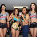 Pesaje Oficial: Anabel Ortiz 107.5 Lbs vs.  Esmeralda Torres 106.5 LBS