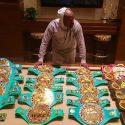 Actual campeón del mundo atenta con romper la marca de Floyd Mayweather Jr