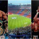 #JoshuaParker podría ser visto en el Camp Nou de Barcelona
