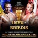 Usyk-Briedis semi-final confirmed for Riga January 27