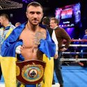 Lomachenko resultó indescifrable para Rigondeaux y lo obligó a abandonar la pelea en el séptimo round