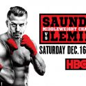 HBO World Championship Boxing returns Saturday with Saunders vs. Lemieux