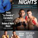 Félix 'La Sombra' Caraballo / El mayagüezano peleará el 20 de enero en su pueblo natal