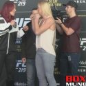 Video: UFC 219 Fighter face off