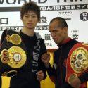 Taguchi y Melindo en peso para su pelea de fin de año