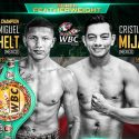 Miguel Berchelt defiende corona WBC contra Cristian Mijares